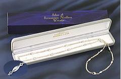 シルバー&ゲルマニウム16駒ネックレス(65cm)