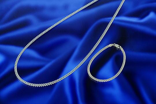 シルバーとゲルマニウムの合金(ネックレス&ブレスレット)