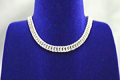 シルバーゲルマニウム6面喜平鎖ネックレス60cm