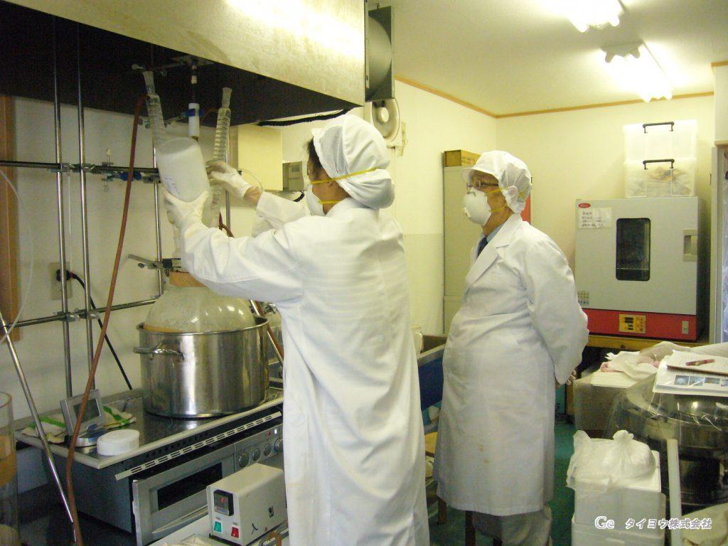弊社の有機ゲルマニウムは国内自社工場で生産しています
